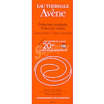 AVÉNE Crema solar coloreada F20 Bote 50 ml