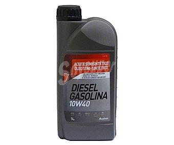 PRODUCTO ALCAMPO Aceite semi sintético para motores de gasolina y diésel 1 litro