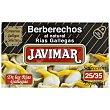 Berberechos de gallegas al natural Javimar sin lactosa 63 g Las Rias