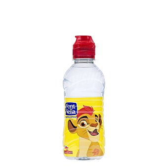 Font Vella Agua mineral natural con tapón infantil Botella 33 cl