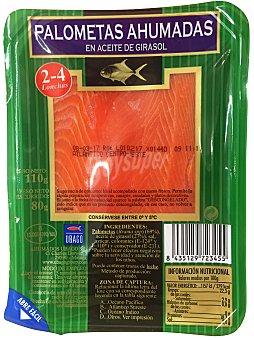 Ubago Palometa ahumada aceite girasol Paquete 110 g (escurrido 80 g)