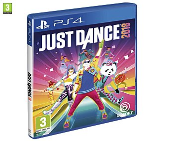 Ubisoft Videojuego Just Dance 2018 para playstation 4. Género: Musical. pegi: +3 Just Dance 2018 Ps4