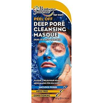 MONTAGNE JEUNESSE Mascarilla facial Peel-off purificante para hombre limpia en profundidad los poros Envase 10 g
