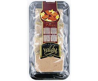 Valdy Bandeja 4 Lonchas de Pate: Al Oporto, Roquefort, Finas Hierbas y Pimienta 100g