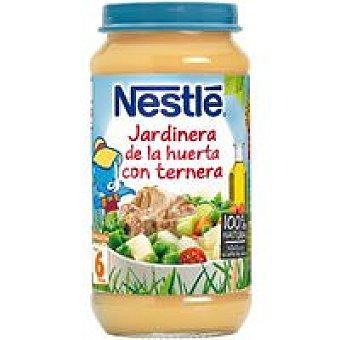 Nestlé Tarrito de ternera a la jardin. desde 6º mes Tarro 250 g