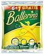 Bayeta amarilla sintética 7 uds Ballerina