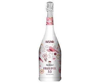 Viña Albali Vino rosado frizzante con bajo contenido en alcohol Botella de 75 cl