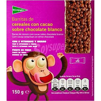 Aliada Barritas de cereales con chocolate Paquete 150 g