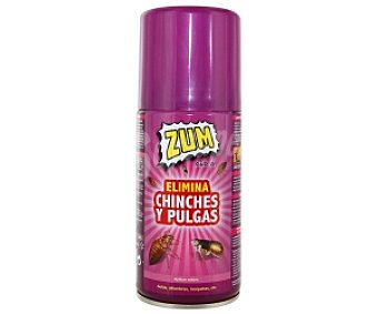 Zum Spray insecticida pulgas y chinches 300 Mililitros