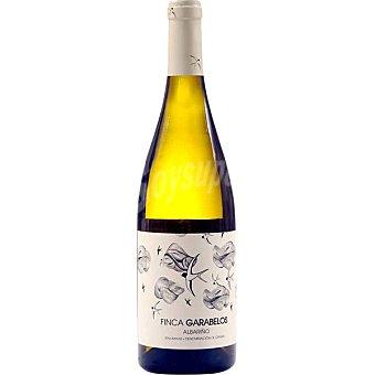 FINCA GARABELOS Vino blanco albariño D.O. Rías Baixas  Botella de 75 cl