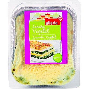 Aliada Lasaña vegetal Envase 400 g