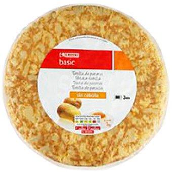 Eroski Basic Tortilla de patata sin cebolla 1 unid