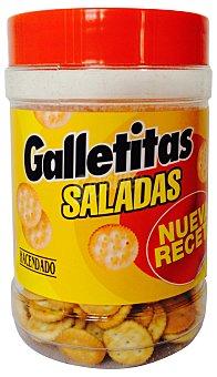 Hacendado Galleta salada redonda Bote 350 g