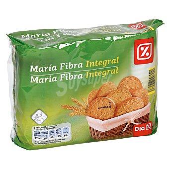 DIA Galleta María fibra integral Paquete 600 gr