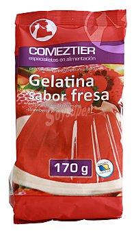 Comeztier Gelatina de fresa 8 raciones Paquete 170 g