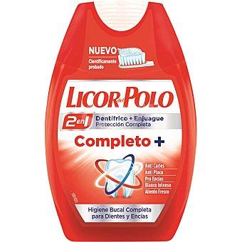 Licor del Polo Dentifrico con elixir 2 en 1 Complete Plus bote 75 ml para dientes y encias Bote 75 ml