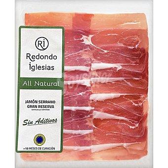 Redondo Iglesias All Natural jamón serrano Gran Reserva ETG 18 meses de curación Envase 75 g