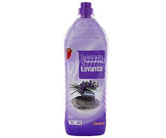 Auchan Suavizante concentrado con aroma a lavanda 2 litros