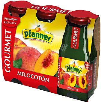 Pfanner gourmet Zumo de melocotón Pack 3 envase 200 ml