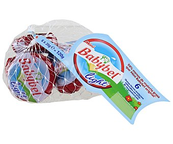 Babybel Queso Mini Babybel Light Malla 6 x 20g