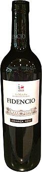 Fidencio Vino tinto La Mancha crianza Botella de 75 cl