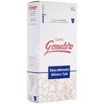 Gometero Café descafeinado México Tula Caja 10 monodosis