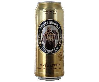 Franziskaner Cerveza rubia de trigo alemana  Lata 50 cl