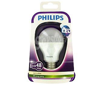 Philips Bombilla led, 9,5W (equivalencia 48W), casquillo E27. blanca cálida, 230V, forma A60 mate no regulable 1 Unidad