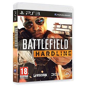 PS3 Videojuego Battlefield Hardline  1 Unidad