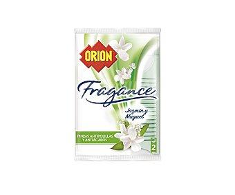 Orion Fragance pinza antipolillas jazmín y muguet 2 unidades