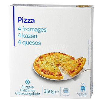 Carrefour Pizza 3 quesos 350 g