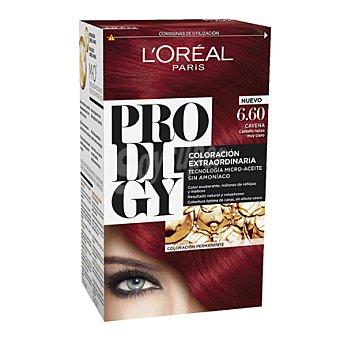 Prodigy L'Oréal Paris Tinte coloración extraordinaria nº 6.60 Cayena Castaño rojizo 1 ud