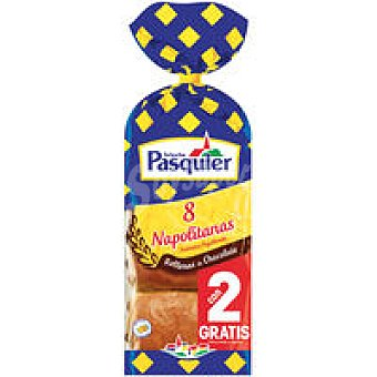 Pasquier Napolitana Choco 6+2