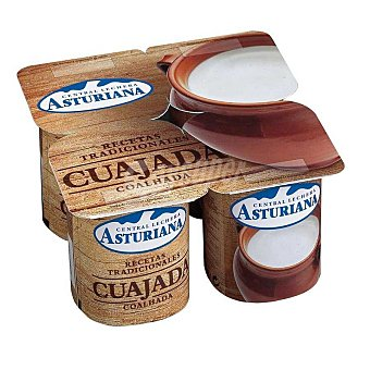 Central Lechera Asturiana Cuajada Pack 4x125 g