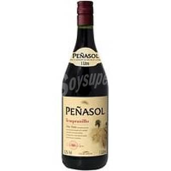 Peñasol Vino Tinto Tempranillo Botella 1 litro