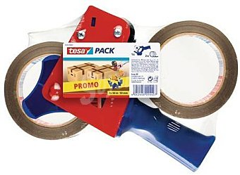 Tesa 57455-00001-01 - cintas y dispensador Pack de 2