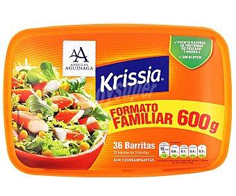 Krissia Barritas de cangrejo  Paquete 36 barritas (600 g)