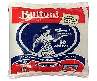 Buitoni Obleas guesas congeladas para empanadillas y postres 16 uds