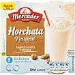 Horchata natural granizada Pack 4 envases x 200 ml Mercader