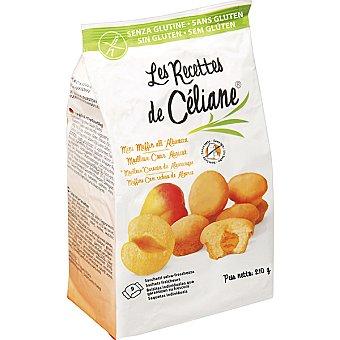 Biogran les recettes de celiane Magdalenas naturales rellenas de albaricoque Envase 210 g