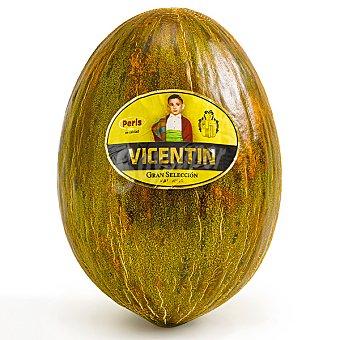 Vicentin Melón piel de sapo pieza de 4.2 kg  100 g (pero mínimo granel)