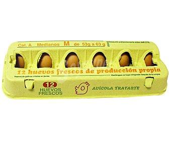 AVÍCOLA TRATANTE Huevos clase M 12 uds