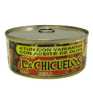 Los chicuelos Atún con variantes 200 g