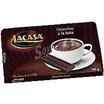 Lacasa Chocolate a la taza 42% Tableta 300 g