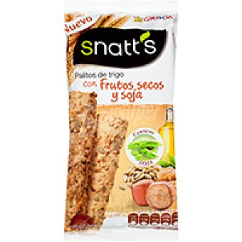 Grefusa Snatt's Palitos con frutos secos-soja Bolsa 65 g
