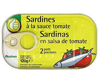 Productos Económicos Alcampo Sardinas en Tomate 84 Gramos