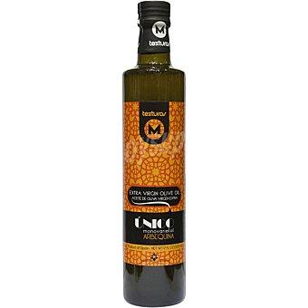 Texturas maimona unico Monovariedad aceite de oliva virgen extra Arbequina Botella 500 ml