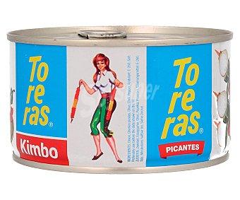 Kimbo Banderillas Picantes Lata 120 Gramos Peso Escurrido