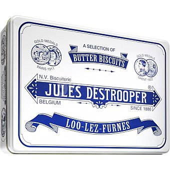 Jules destrooper Galletas surtidas Tin Retro caja 350 g caja 350 g