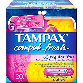Tampax Tampones Compak Fresh Regular 20u